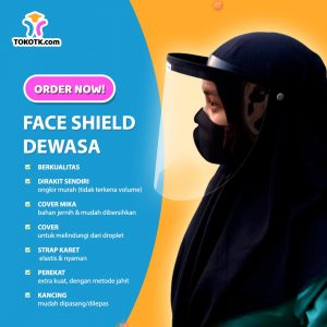 Face Shield Dewasa